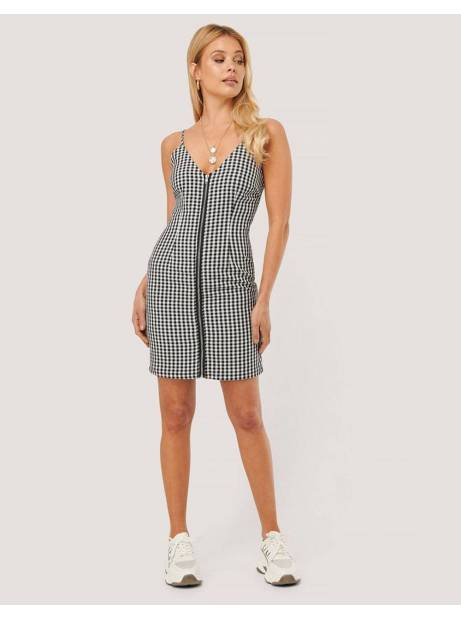 NA-KD by Nicole Mazzoccato checkered mini dress - checkered NA-KD Dress 60,00€
