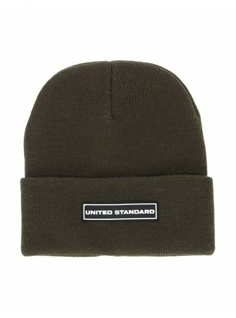 United Standard box logo beanie - military United Standard Beanie 65,00€