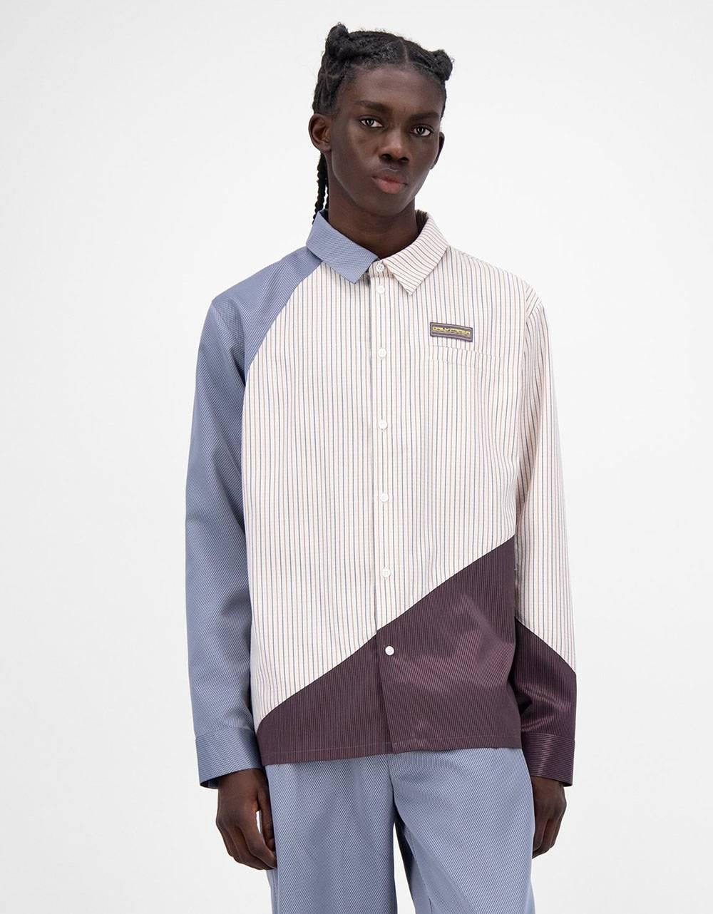 Daily Paper Jadee shirt - lightblue/beige/bordeaux DAILY PAPER Shirt 143,44€