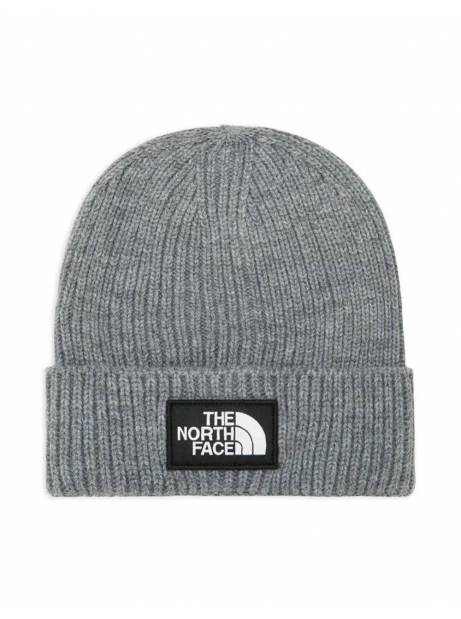 The North Face box logo cuff beanie - tnf medium grey THE NORTH FACE Beanie 35,00€