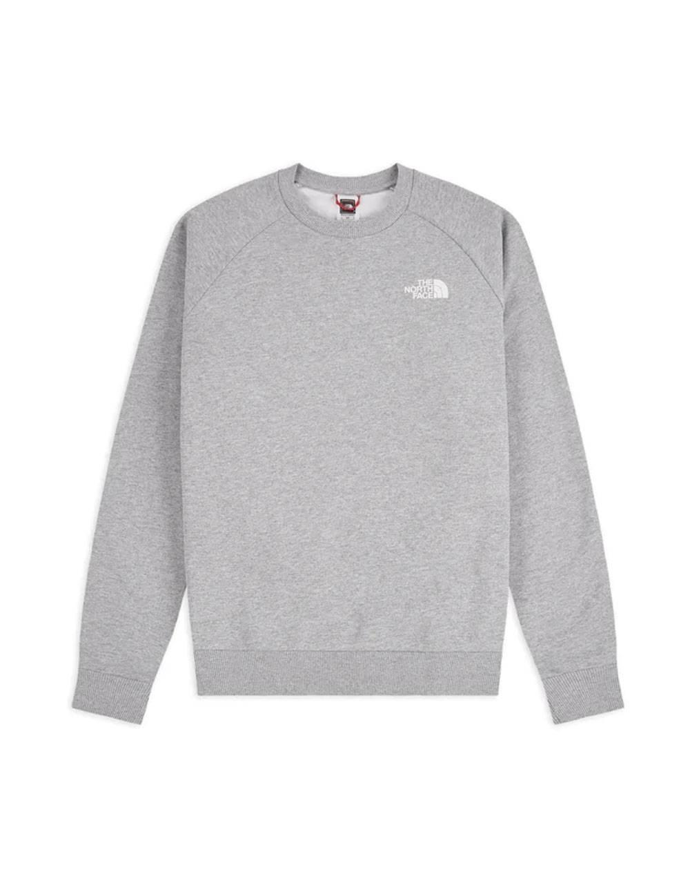 The North Face raglan red box new crewneck sweater - light grey THE NORTH FACE Sweater 75,41€