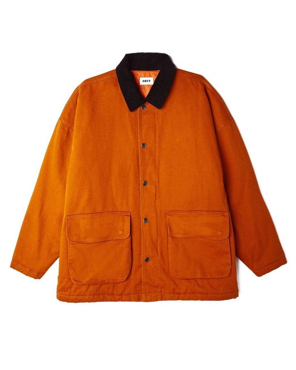 Obey far hunting jacket - pumpkin spice obey Jacket 199,00€