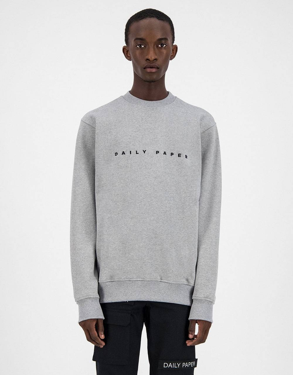 Daily Paper Alias crewneck sweater - Grey/Black DAILY PAPER Sweater 106,00€