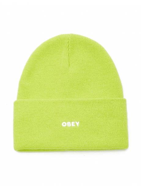 Obey fluid beanie - bright green obey Beanie 35,00€
