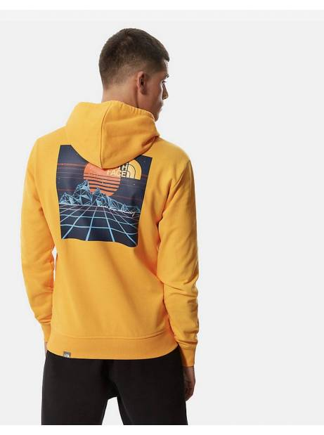 The North Face Throwback hoodie - Summit gold THE NORTH FACE Sweater 99,00€