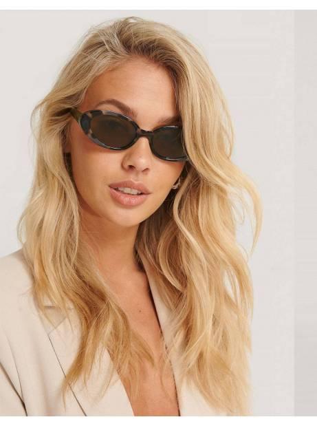 NA-KD oval retro sunglasses - tortois NA-KD Sunglasses 24,59€