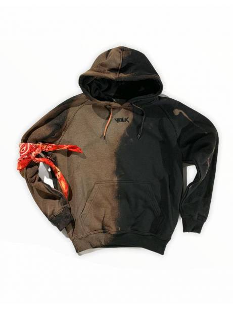 Volk smile font hoodie - bleached black VOLK Sweater 119,00€
