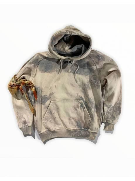 Volk smile font hoodie - bleached grey VOLK Sweater 119,00€
