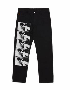 Pleasures Shallow denim jeans - black Pleasures Jeans 140,00€