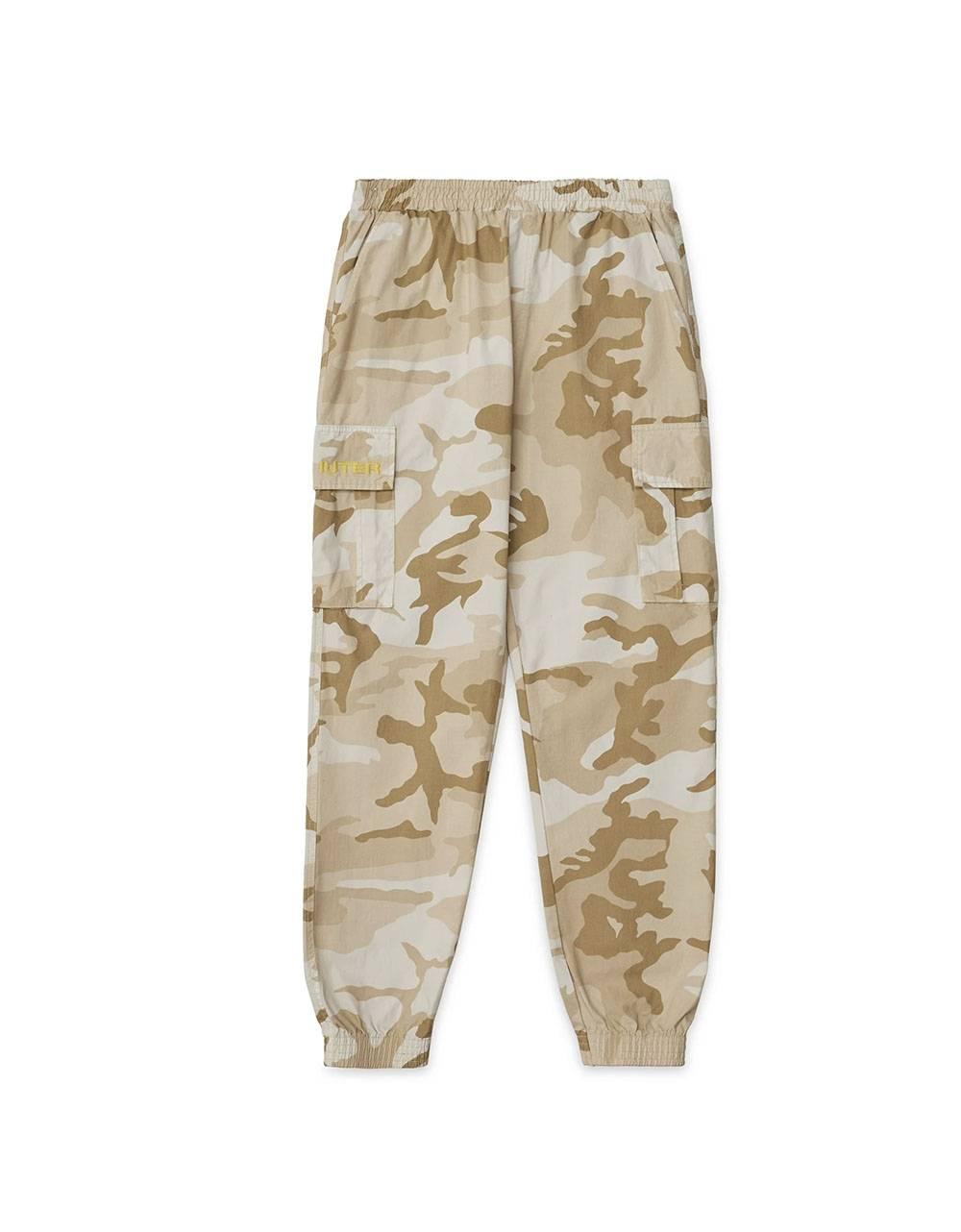 Iuter Cargo camo jogger pants - beige IUTER Pant 129,00€