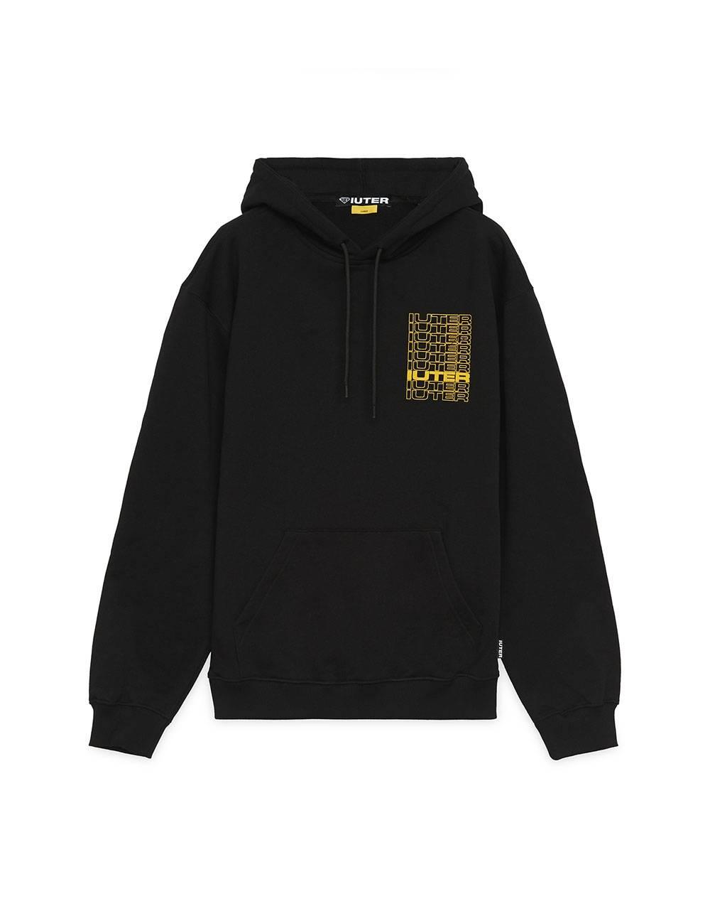 Iuter Spine Hoodie - Black IUTER Sweater 81,15€