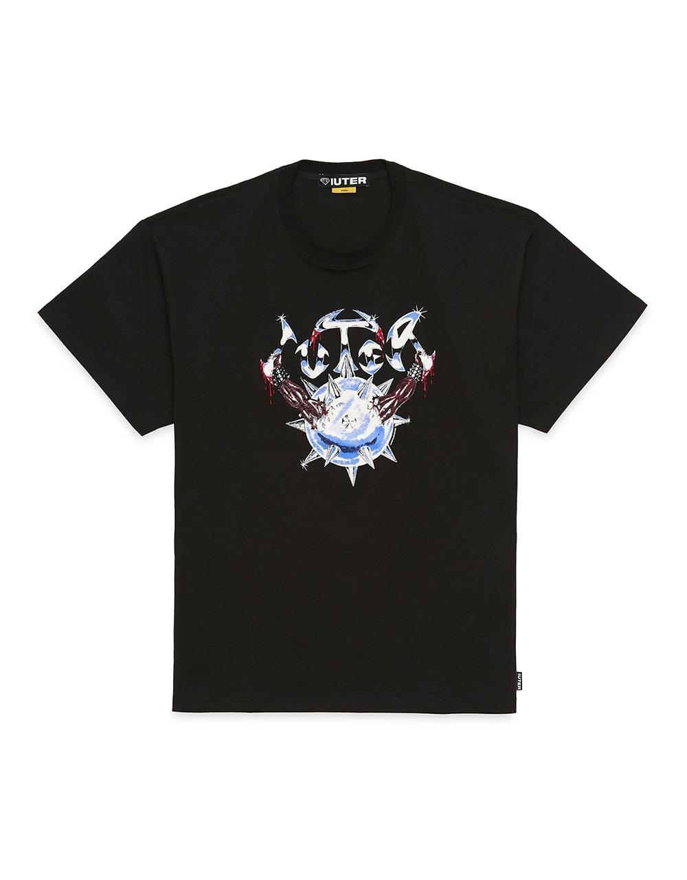 Iuter Steel tee - Black IUTER T-shirt 55,00€