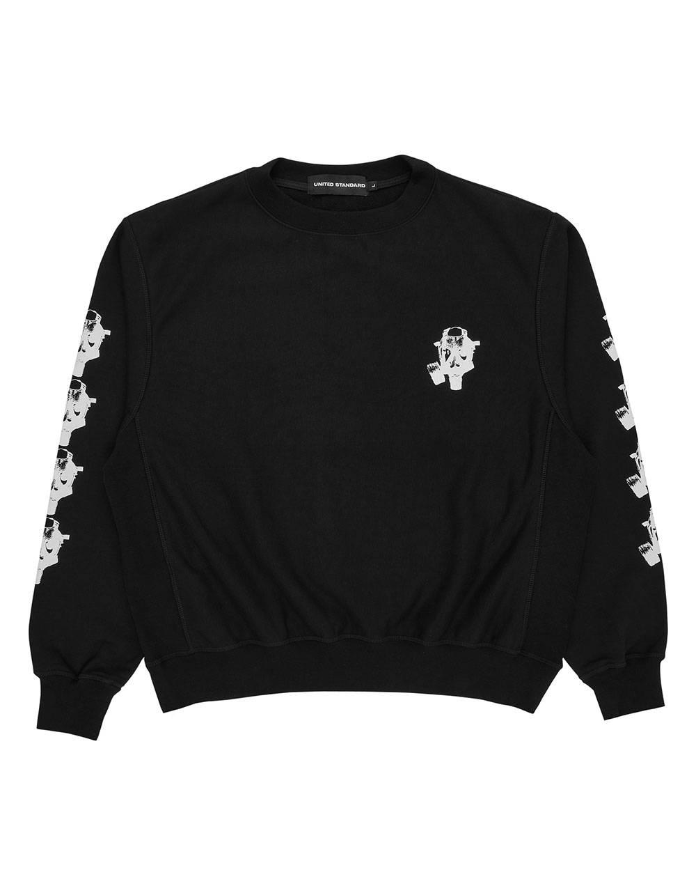 United Standard Mask crewneck sweater - black United Standard Sweater 179,00€