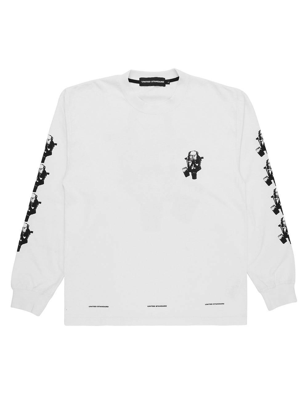 United Standard Mask longsleeve tee - white United Standard T-shirt 97,54€