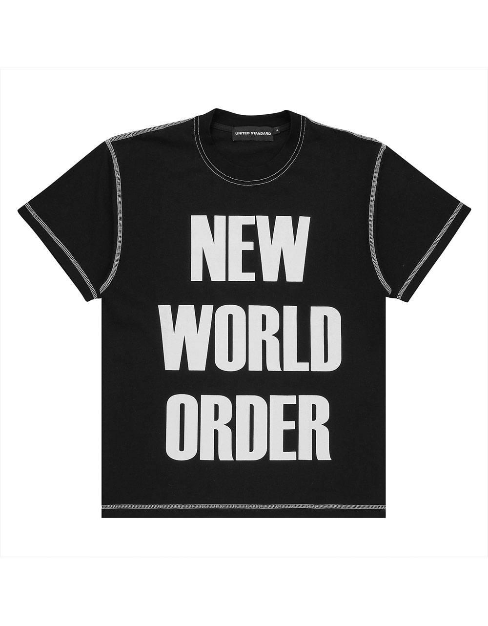 United Standard New world order tee - black United Standard T-shirt 79,00€