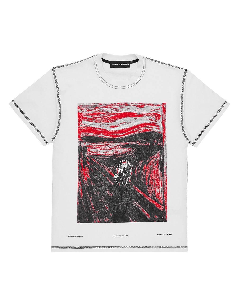 United Standard Vincent tee - white United Standard T-shirt 72,95€
