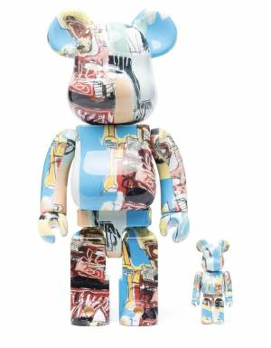 Medicom Toy x Jean Michel Basquiat 6 Bearbrick Set 100% 400% Medicom Toy Toys 250,00€