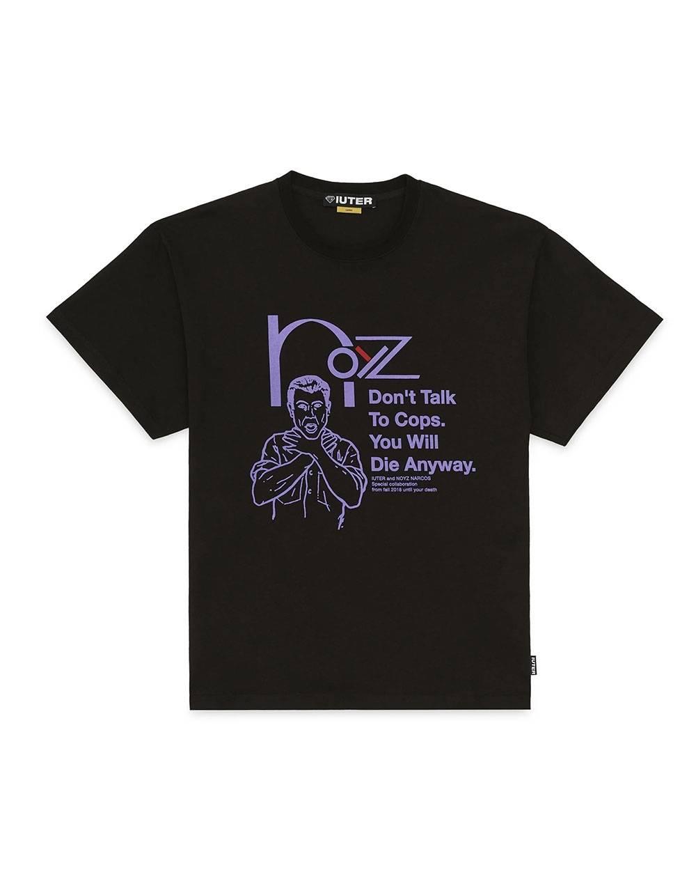 Iuter x Noyz Narcos Snitch tee - Black IUTER T-shirt 36,89€