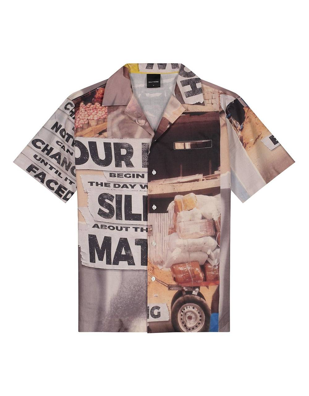 Daily Paper Kovan collage shirt - collage allover DAILY PAPER Shirt 155,00€