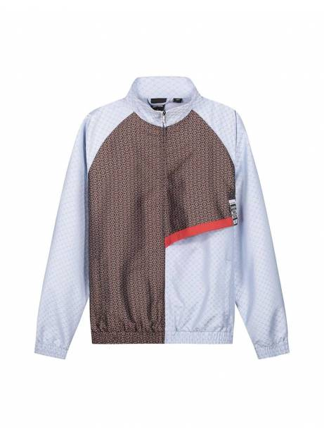 Daily Paper Kasah scarf light jacket - light blue DAILY PAPER Sweater 176,23€