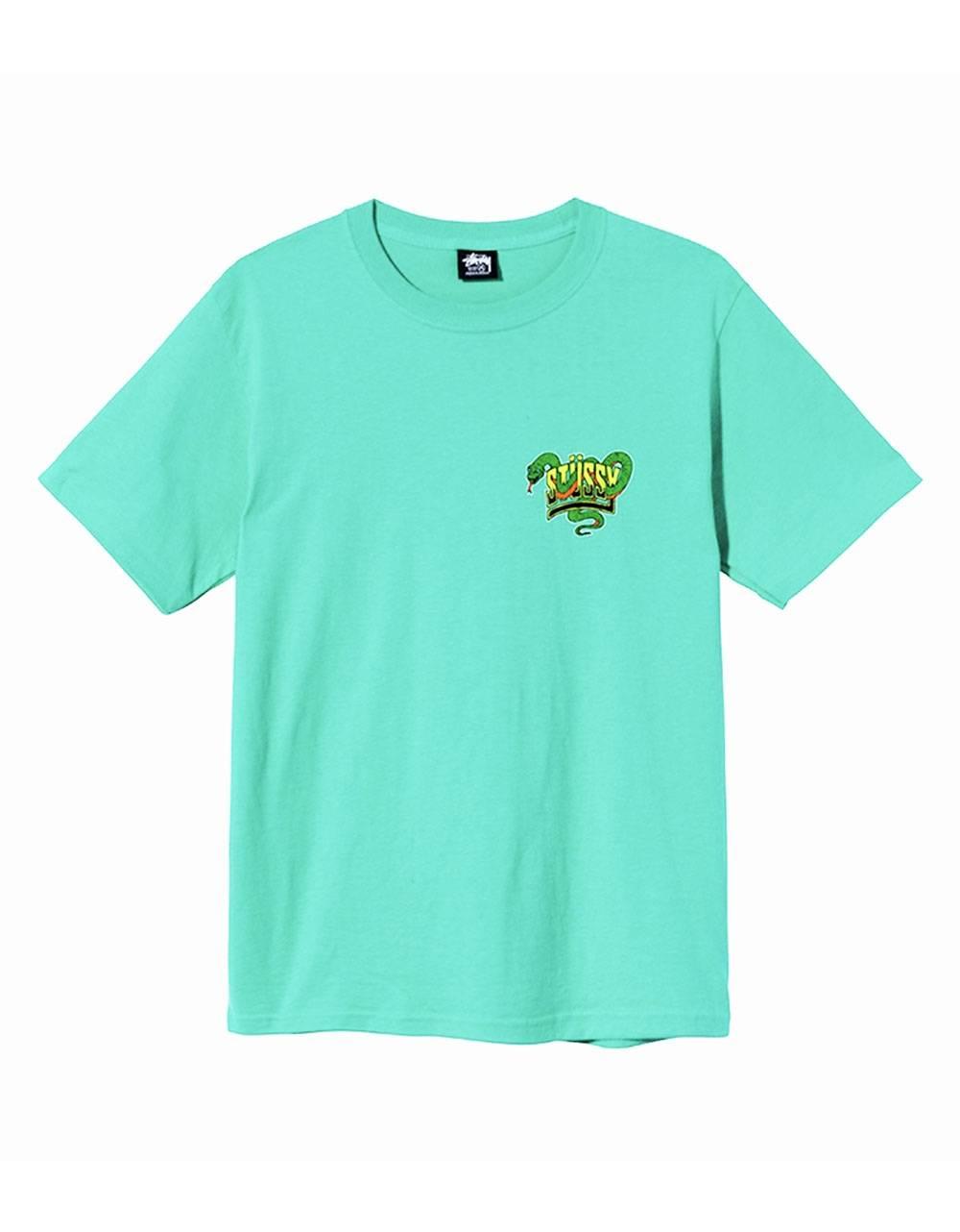 Stussy Snakebite tee - green Stussy T-shirt 55,00€