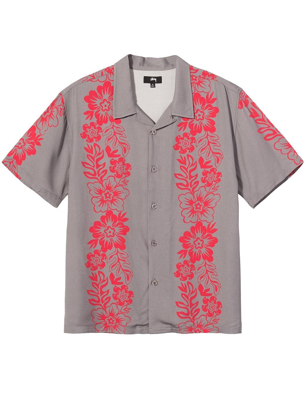 Stussy Hawaiian pattern shirt - grey Stussy Shirt 155,00€