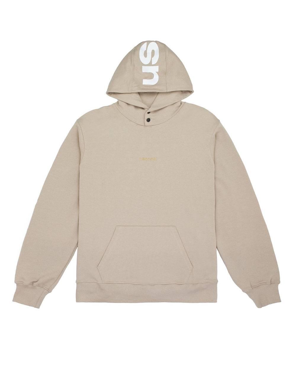 Usual Clip Hooded Sweatshirt - cream Usual Sweater 120,00€