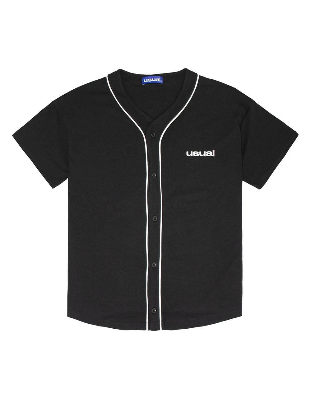 Usual Home Run Baseball Shirt - black Usual T-shirt 102,46€