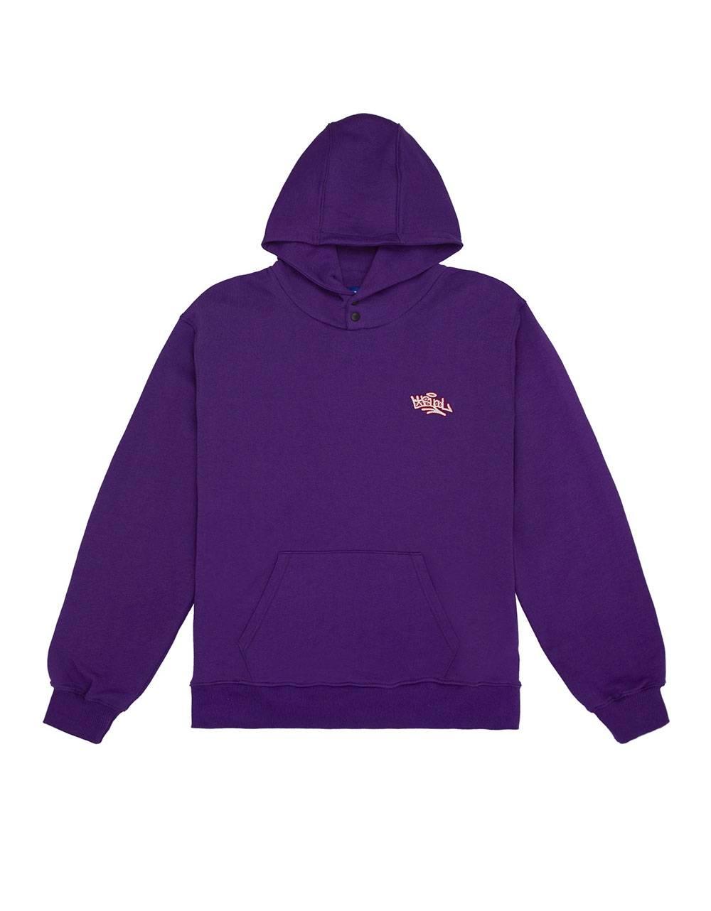 Usual Tag Hooded Sweatshirt - purple Usual Sweater 120,00€
