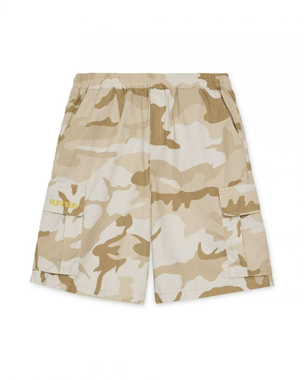 Iuter Cargo camo shorts - beige IUTER Shorts 109,00€