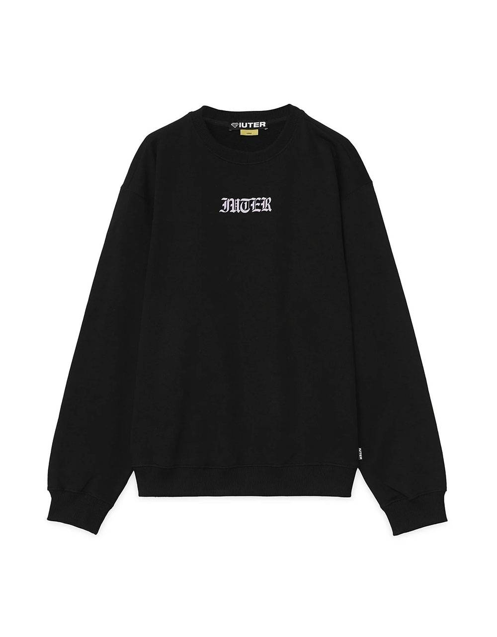 Iuter Noone crewneck sweater - Black IUTER Sweater 90,00€