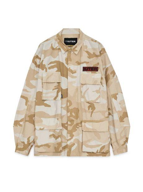 Iuter Struggle overshirt jacket - Beige IUTER Light jacket 163,11€