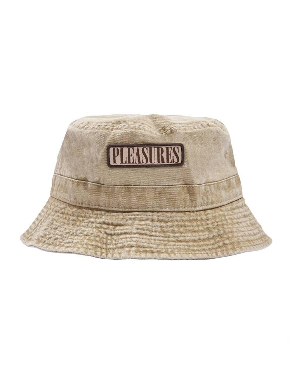 Pleasures Spank bucket hat - washed khaki Pleasures Hat 55,00€