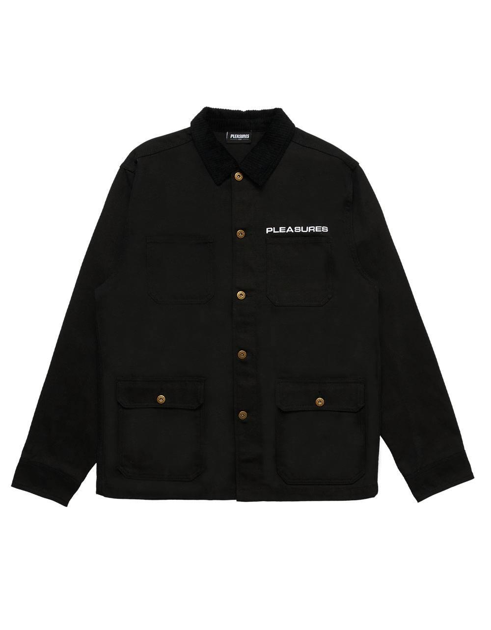Pleasures Spike chore jacket - black Pleasures Light jacket 169,00€