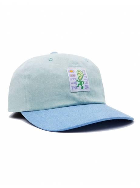 Obey Rhythm 6 panel strapback hat - mint multi obey Hat 45,00€