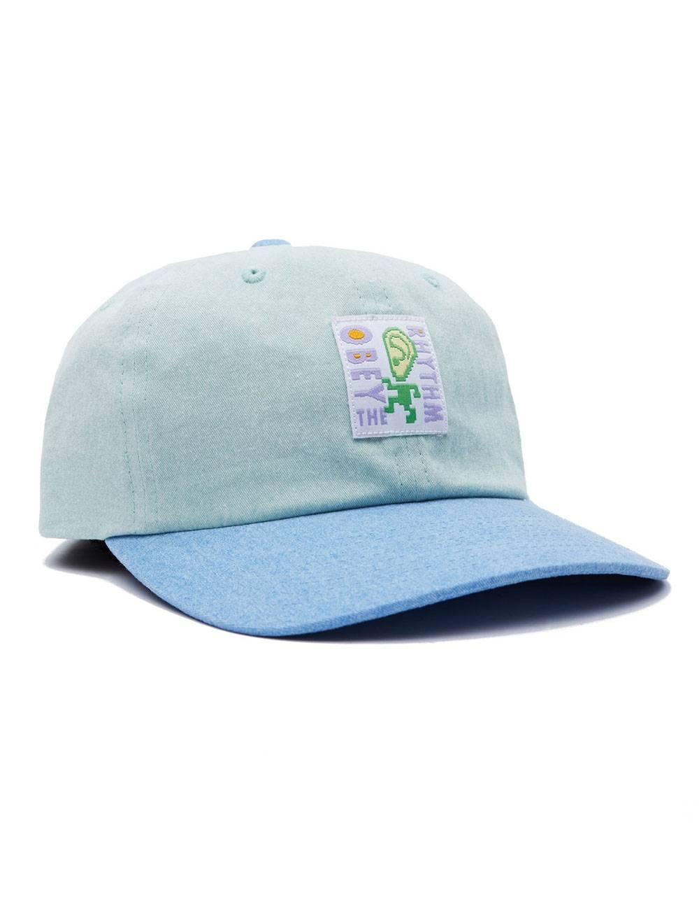 Obey Rhythm 6 panel strapback hat - mint multi obey Hat 36,89€