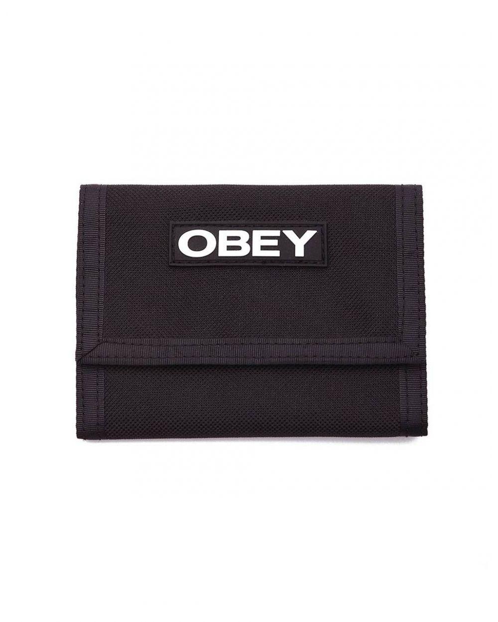 Obey commuter tri fold wallet - black obey Wallet 26,23€