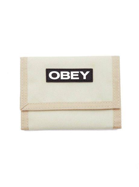 Obey commuter tri fold wallet - khaki obey Wallet 32,00€