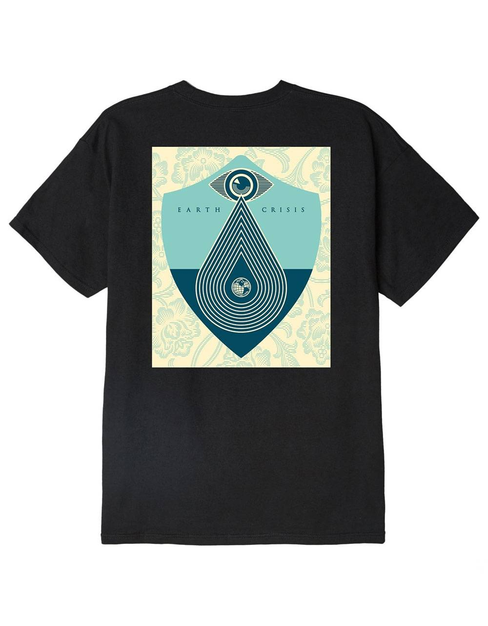 Obey Earth crisis classic t-shirt - black obey T-shirt 36,89€