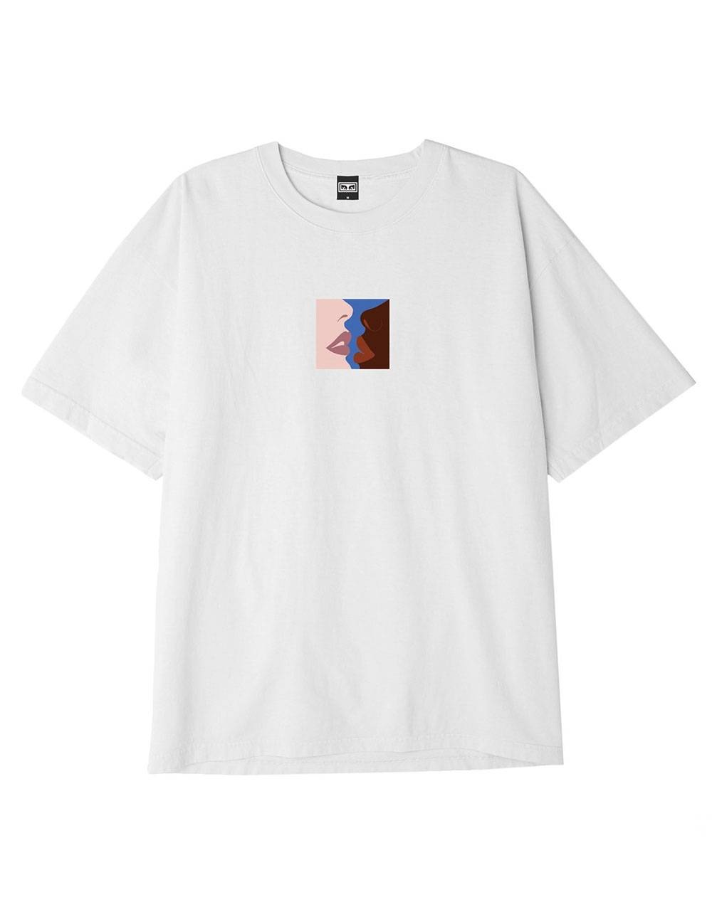 Obey Hers heavyweight box fit t-shirt - white obey T-shirt 50,00€