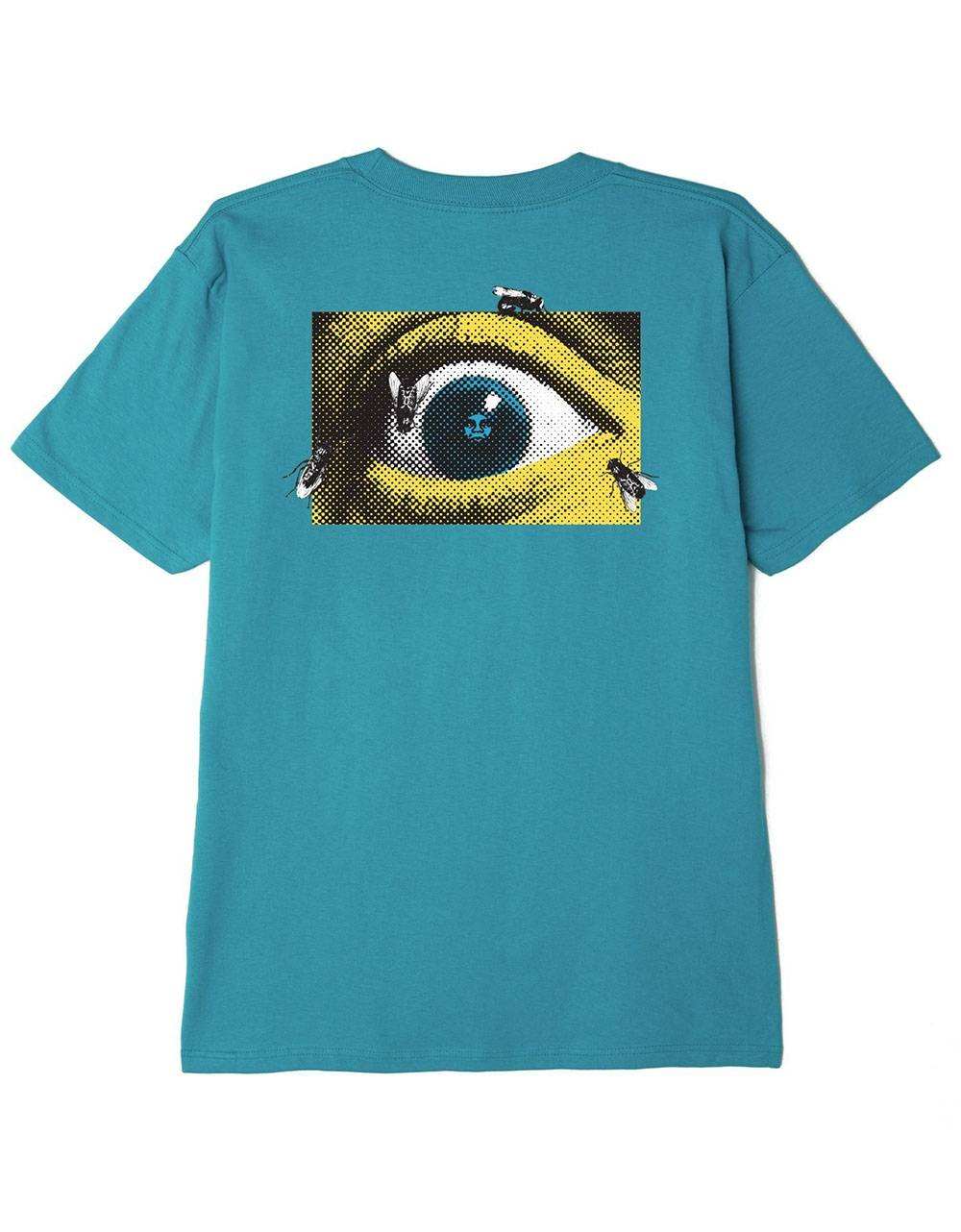 Obey mass seduction classic t-shirt - teal obey T-shirt 45,00€