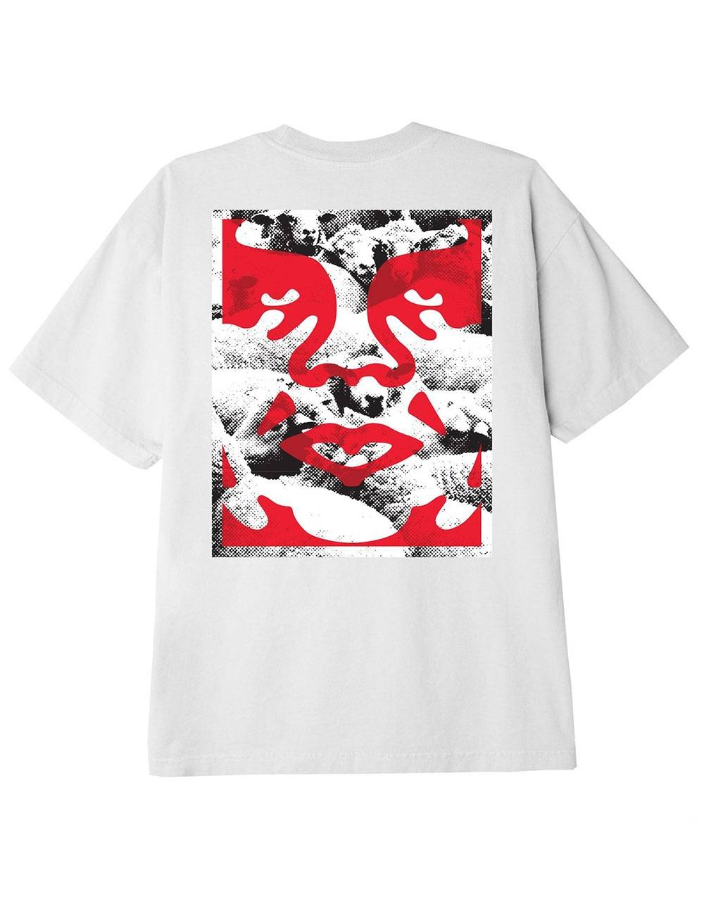 Obey seduction of the masses classic t-shirt - white obey T-shirt 45,00€