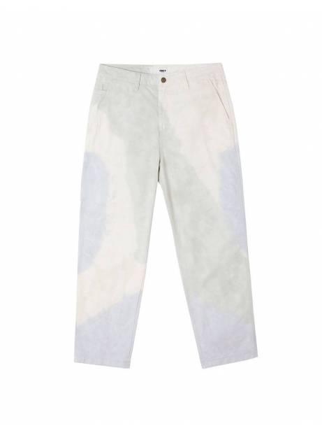 Obey Tie dye hardwork carpenter pants - good grey multi obey Pant 90,16€