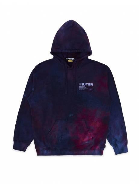 Iuter Disaster Hoodie - purple tie dye IUTER Sweater 108,20€