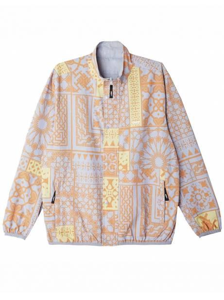 Obey Patchwork reversible jacket - good grey multi obey Light jacket 162,00€
