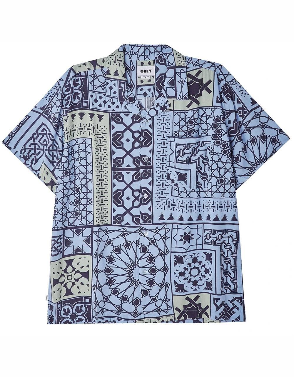 Obey Pathos shirt - navy multi obey Shirt 85,00€