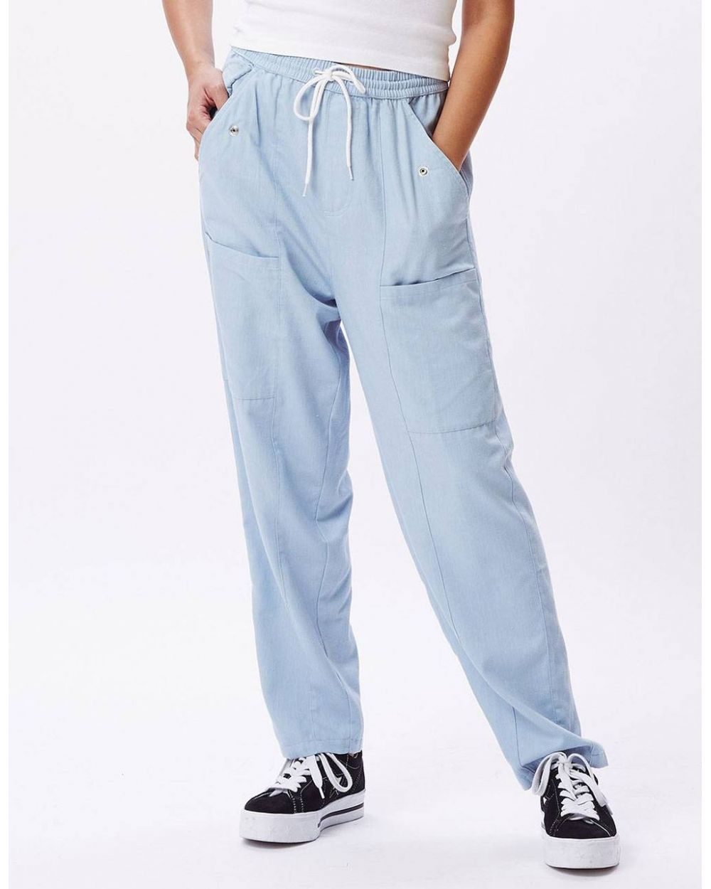 Obey Woman provence pants - faded blue obey Pants 109,00€
