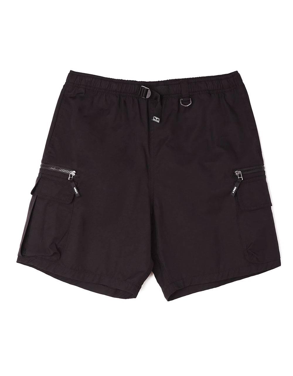 Obey Warfield trek shorts - black obey Shorts 77,87€