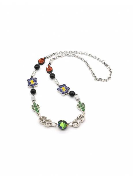 Salute + Evae Cactus flower flame necklace Evae Necklace 109,00€