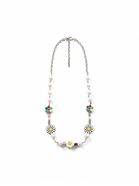 Salute + Evae Flower anarchy smile necklace Evae Necklace 109,00€
